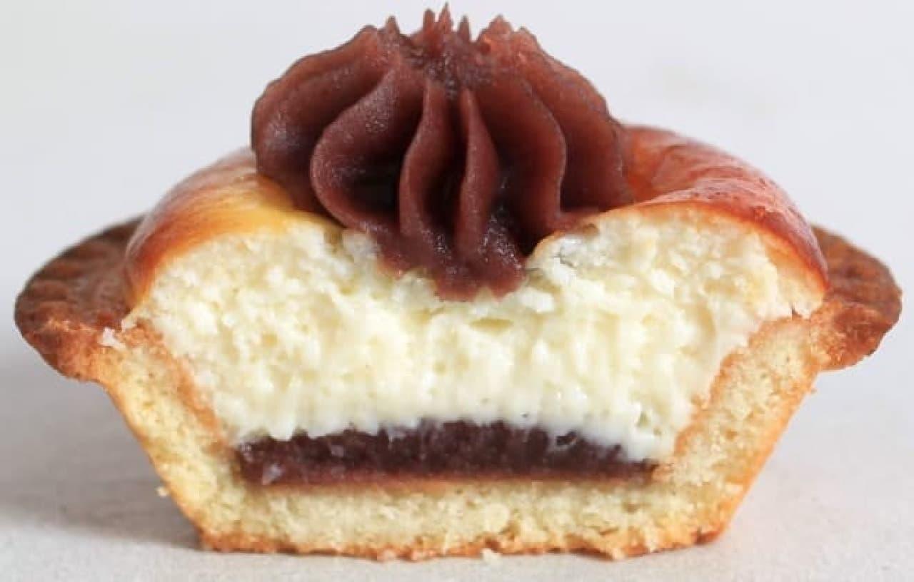 ベイクチーズタルトJR名古屋タカシマヤ店限定「しるこチーズタルト」