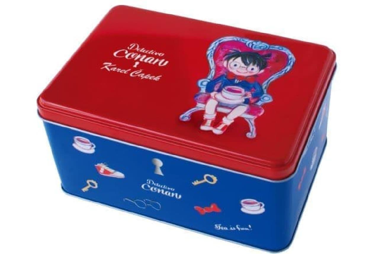 コナンティーコレクションは、人気作品『名探偵コナン』とコラボレーションした紅茶が入ったコンプリート缶