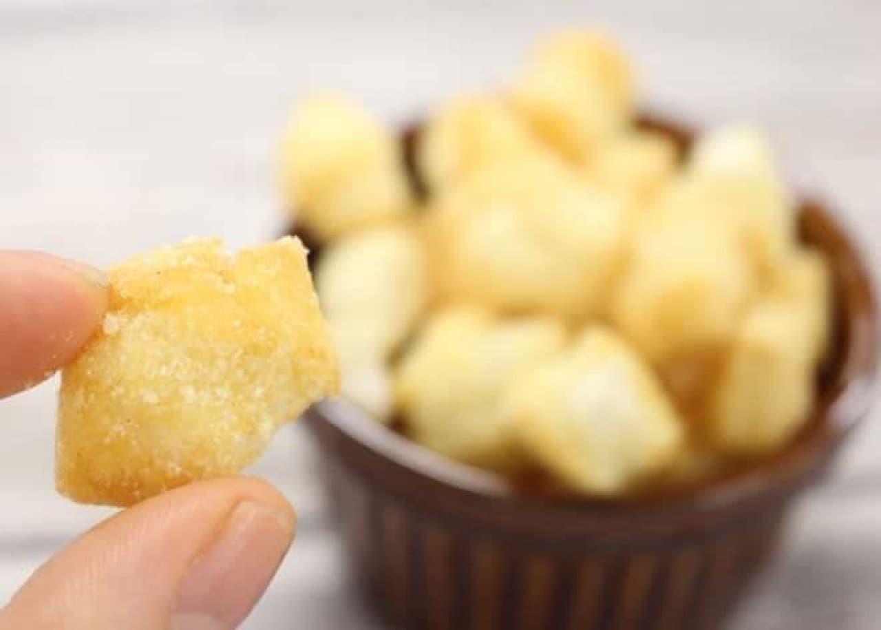 カルディ「もへじ 小粋な米菓 塩レモンおかき」