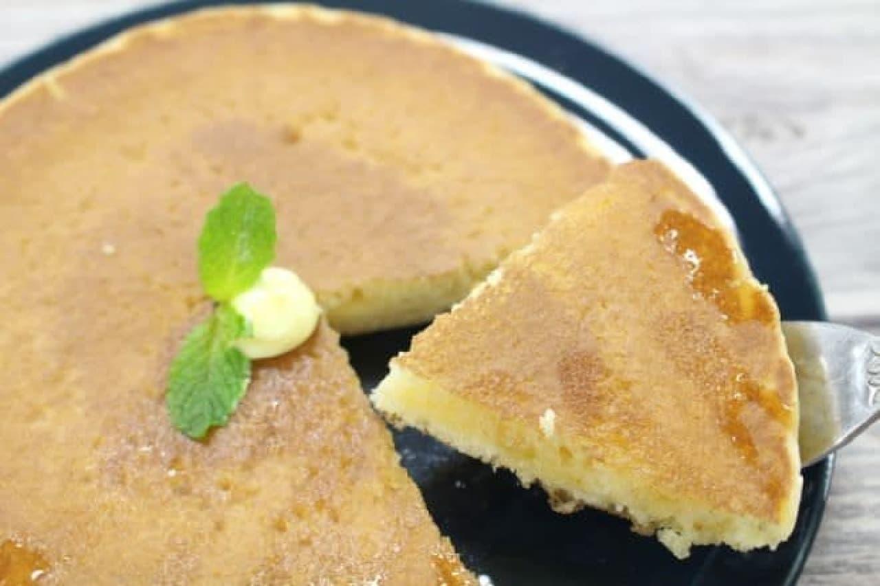 カルディで見つけた「銅板焼ホットケーキ」