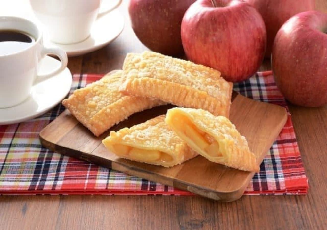 ローソン「ごろごろりんごのアップルパイ」