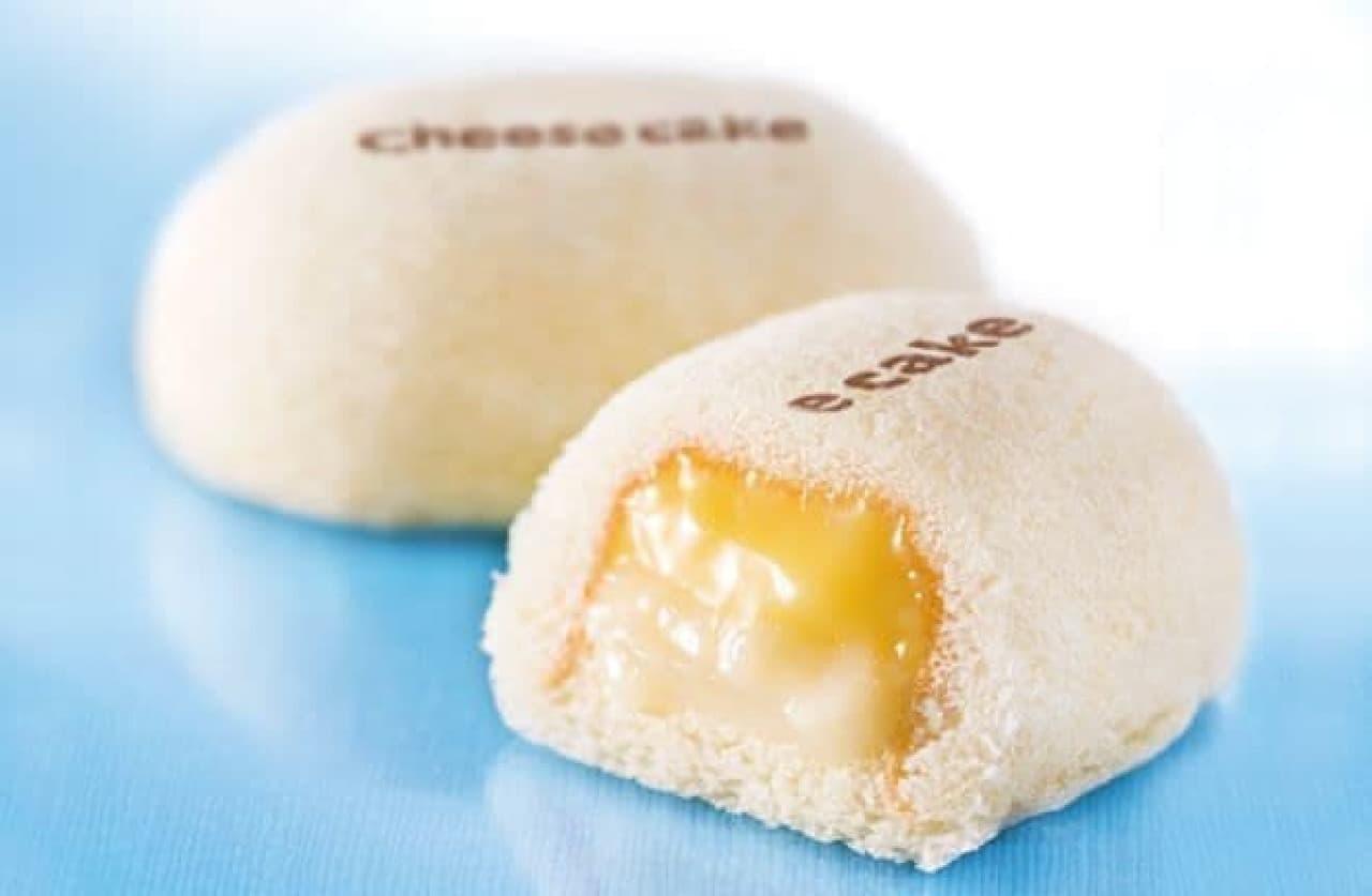 「銀座のチーズケーキ」です。は、夏季限定のチーズケーキ