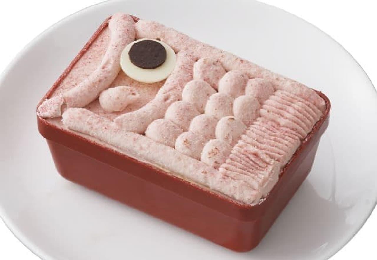 こどもの日スイーツBOX「苺のこいのぼりプリンケーキ」