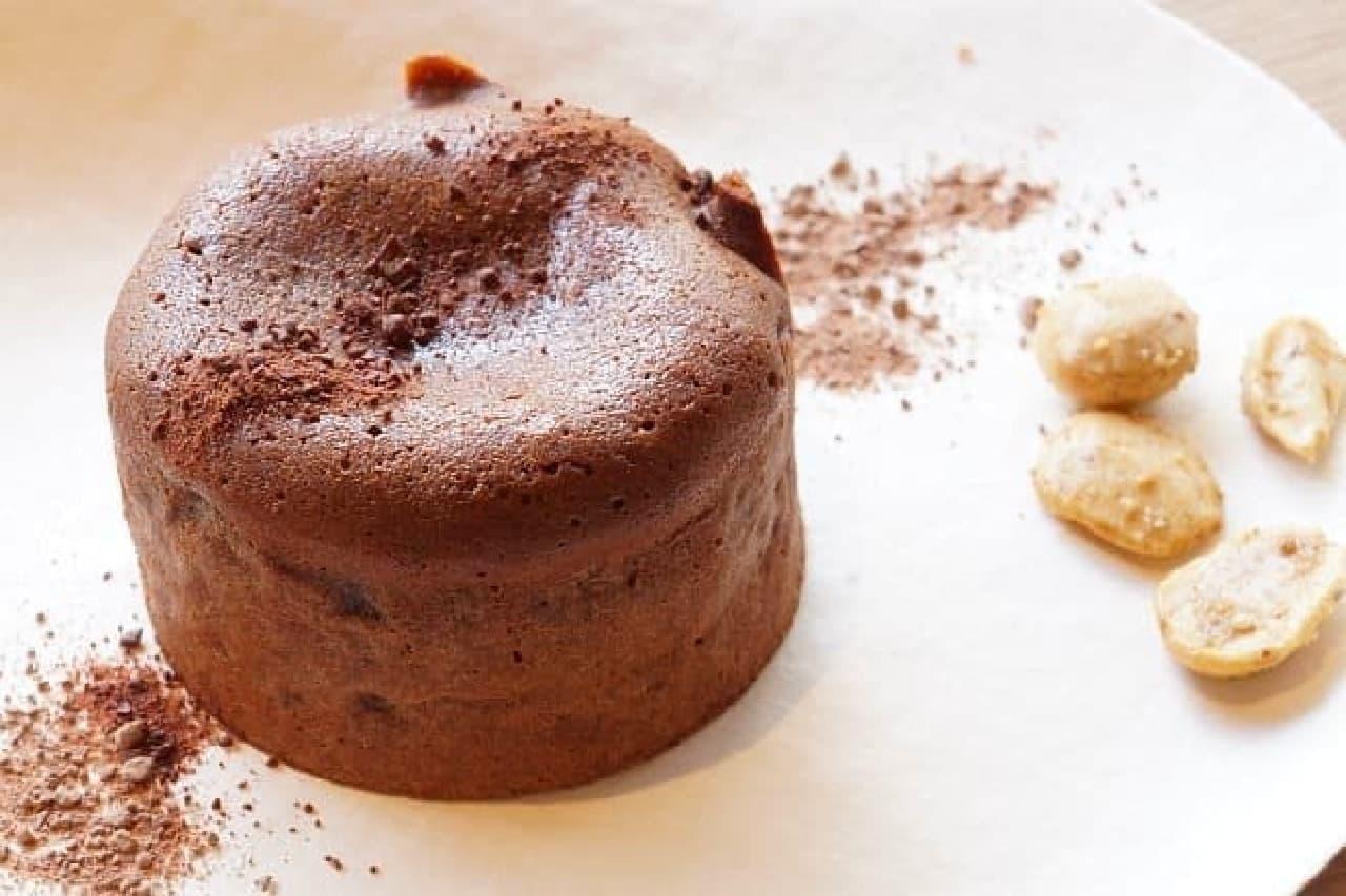 ハイ カカオ チョコレートスタンド「焼きたてフォンダンショコラ」