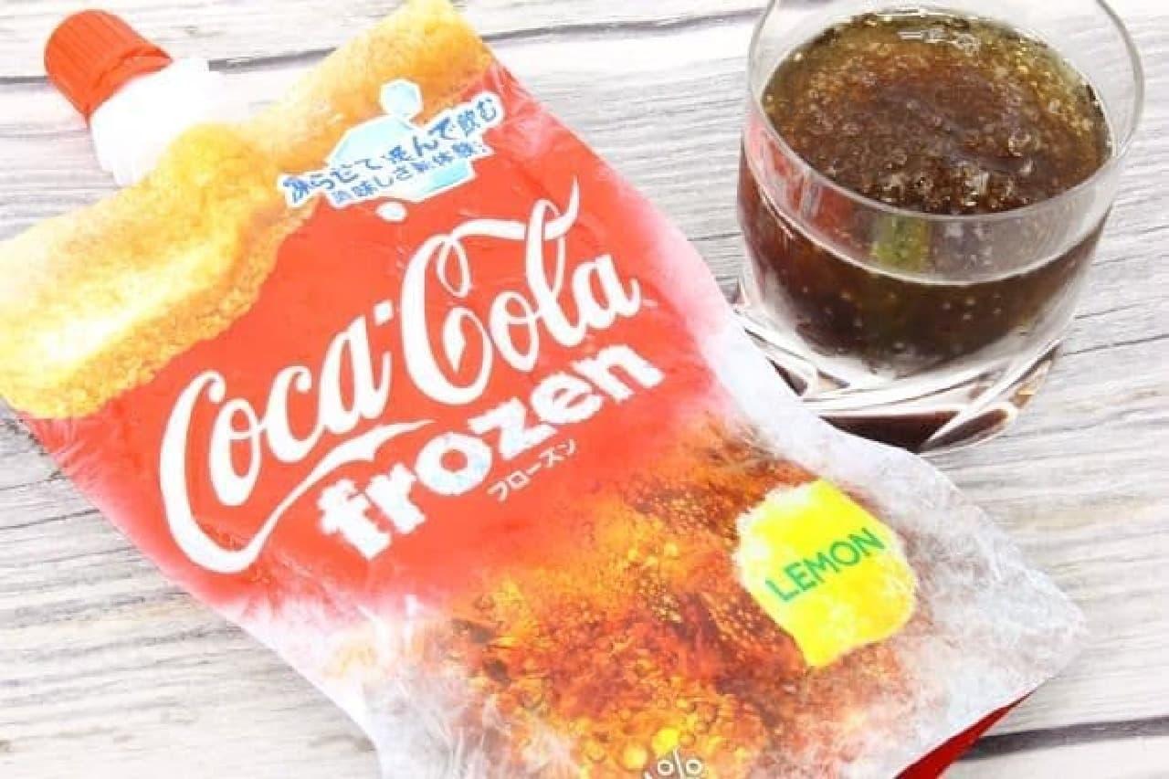 コカ・コーラ フローズン レモン