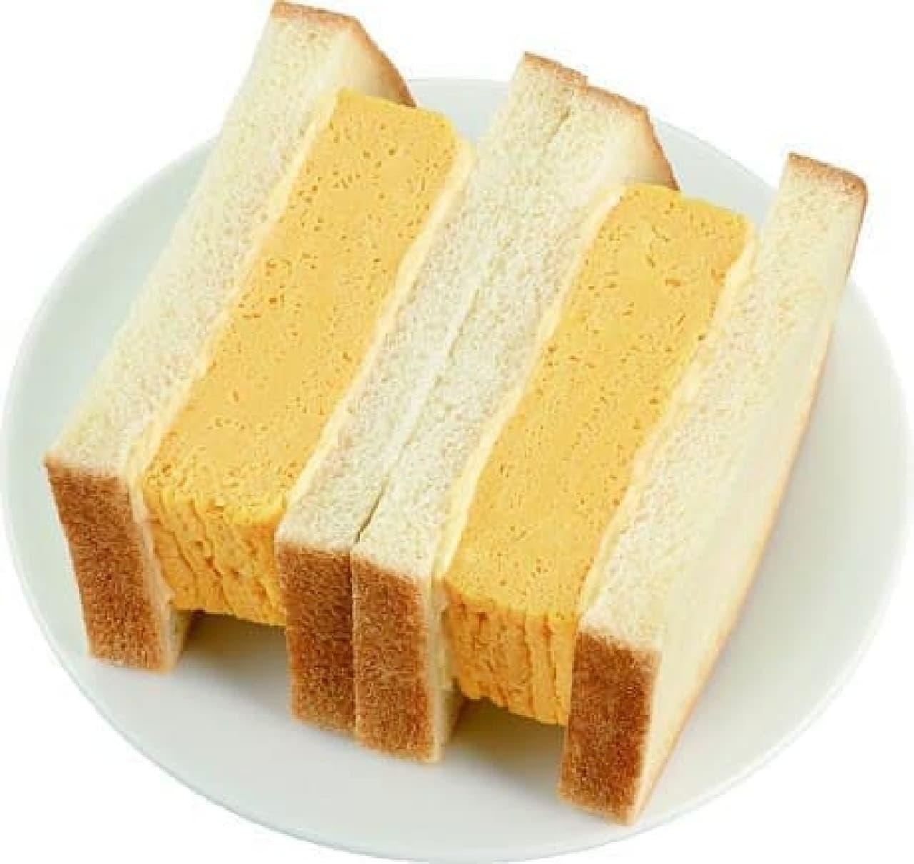 ミニストップの「厚焼き玉子サンド」