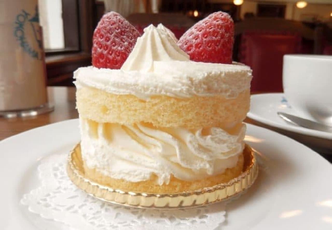 馬車道十番街のショートケーキ