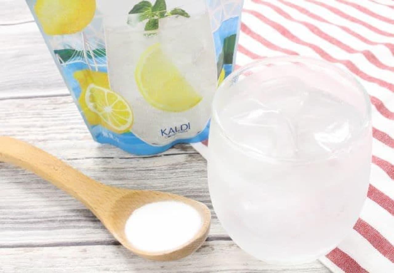 カルディ「瀬戸内塩レモンソーダ」