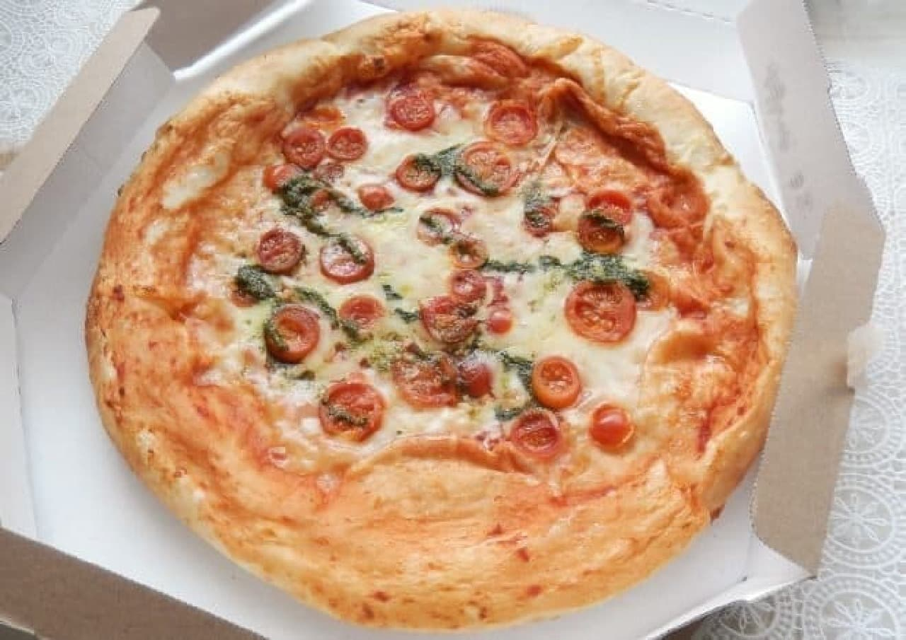 オーケーストア「手作りチェリートマトのマルゲリータピザ」