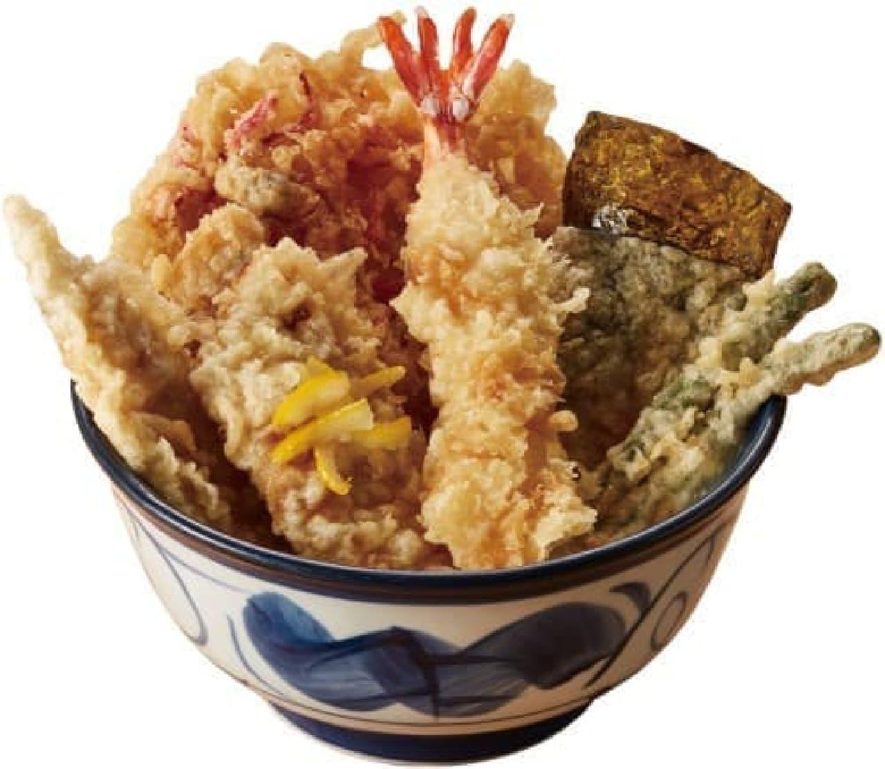 てんや「初夏の海鮮天丼」
