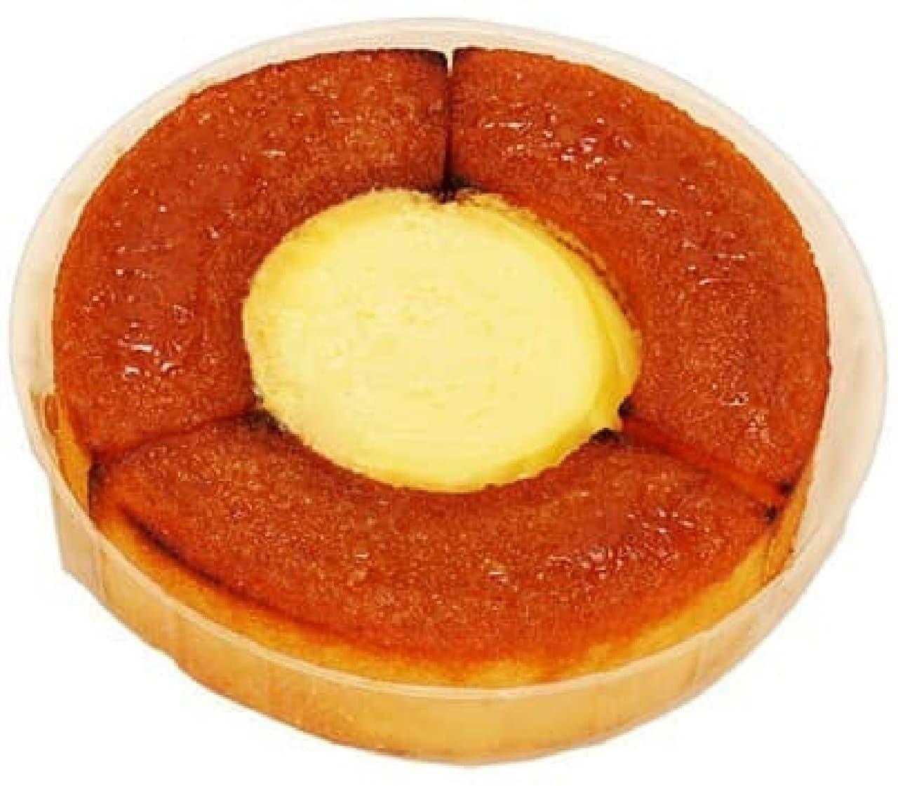 ファミリーマート「クリーミーバウムケーキ クレームブリュレ風」