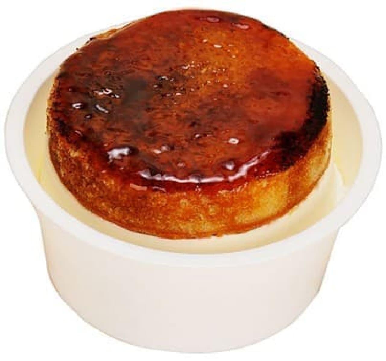 ファミリーマート「ブリュレチーズケーキ」