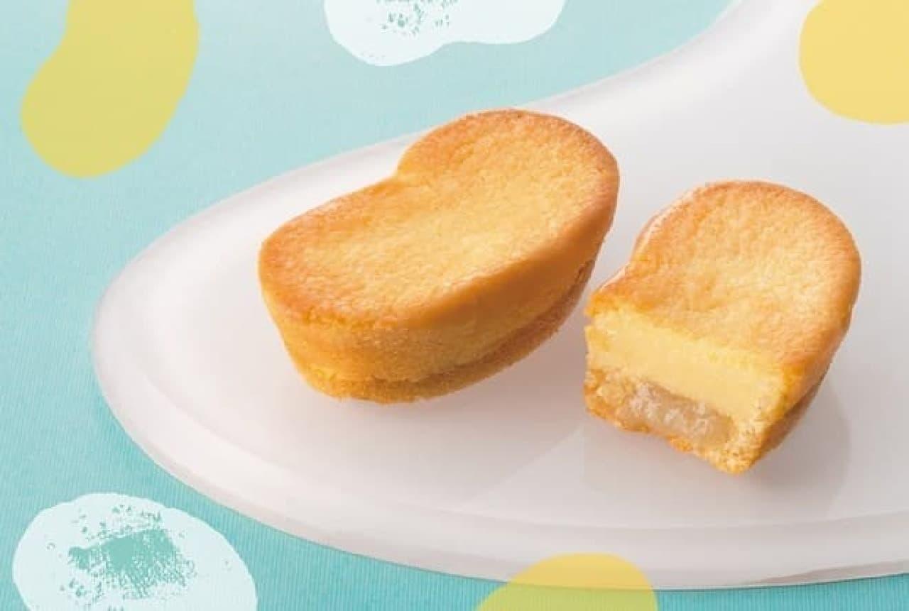 東京ばな奈ワールド』「東京ばな奈チーズケーキ、『見ぃつけたっ』」