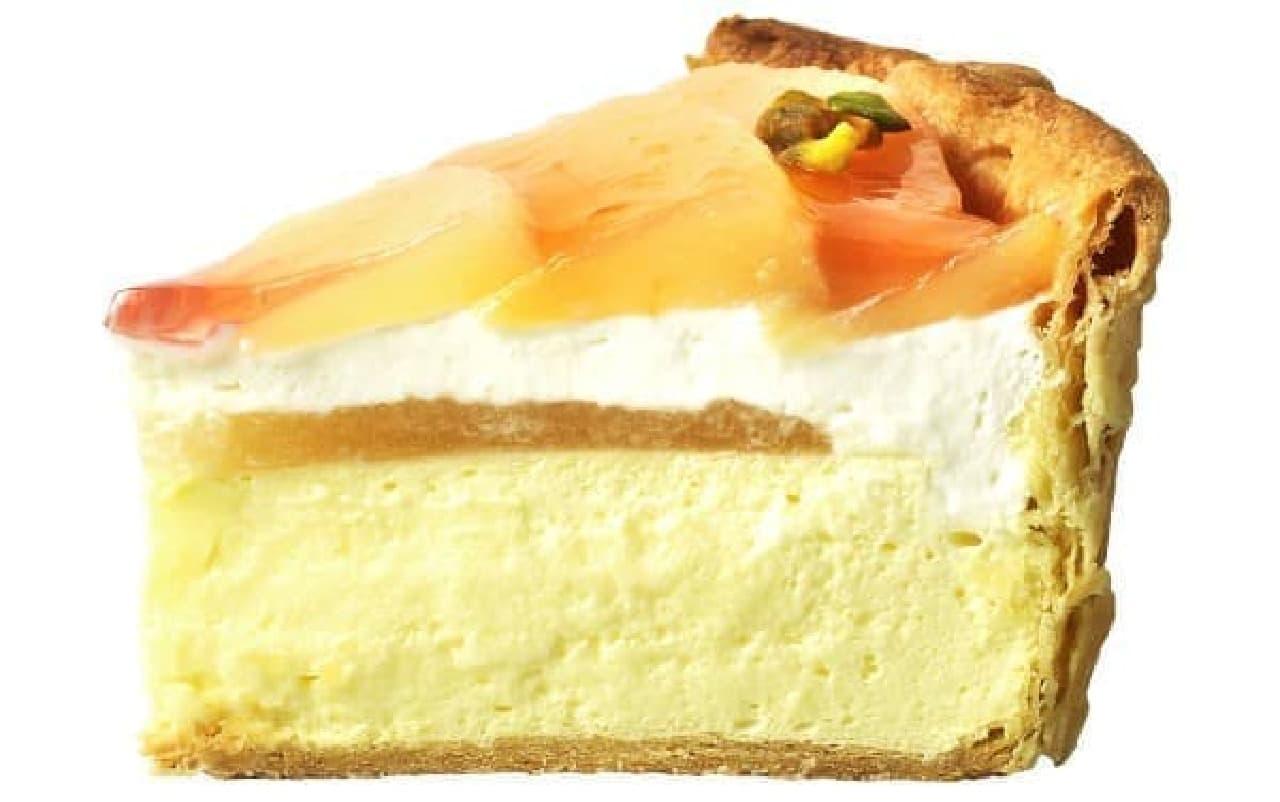 焼きたてチーズタルト専門店PABLO「パブロのチーズタルト‐ピーチピクニック‐」