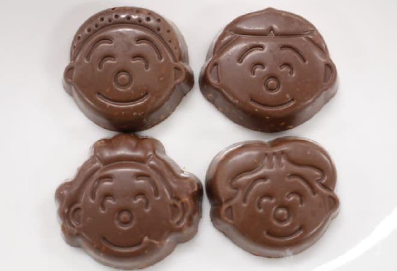 サザエさんのお店「サザエ家 缶入りチョコクランチ」