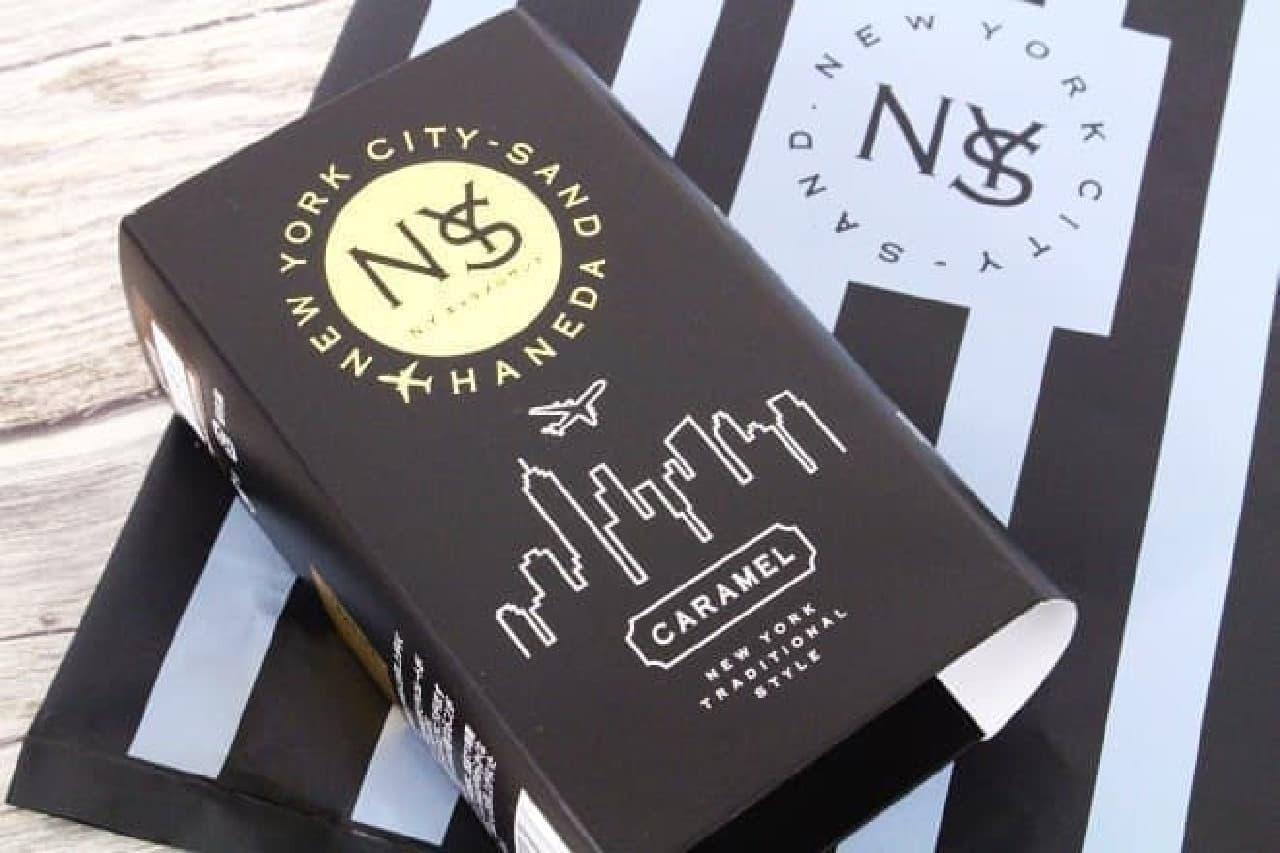 N.Y.C.SANDの「N.Y.キャラメルサンド」