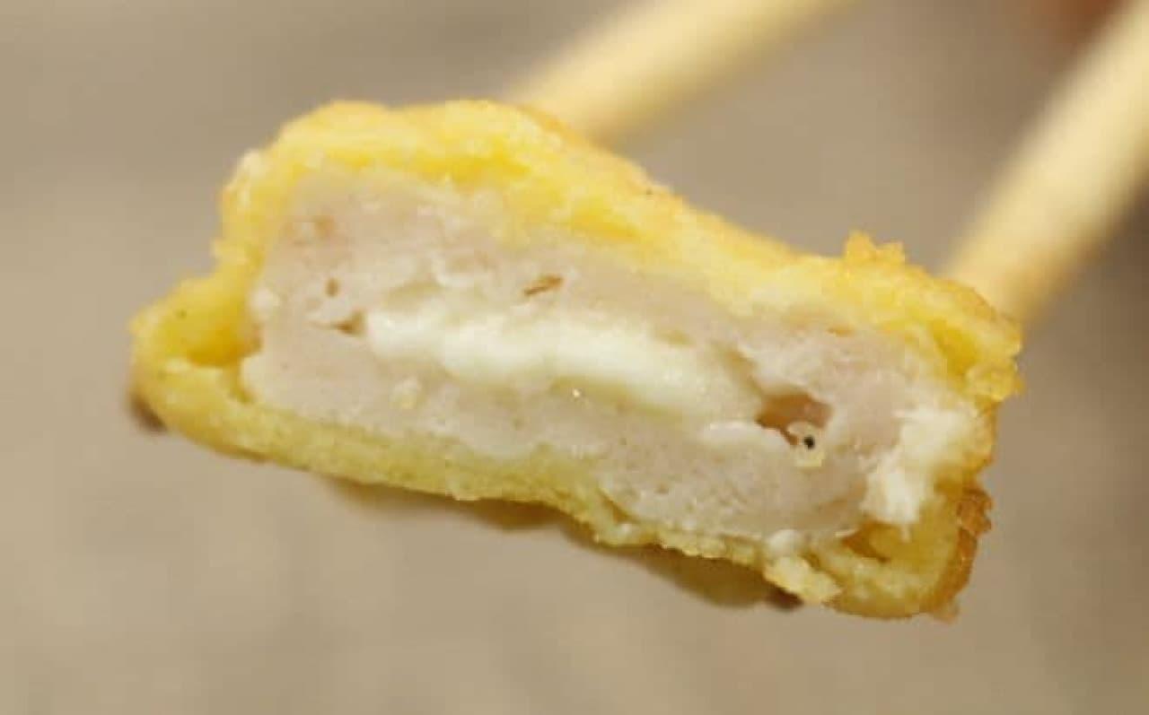 コストコで販売されていた「伊藤ハム チキンナゲット kiriクリームチーズ使用」