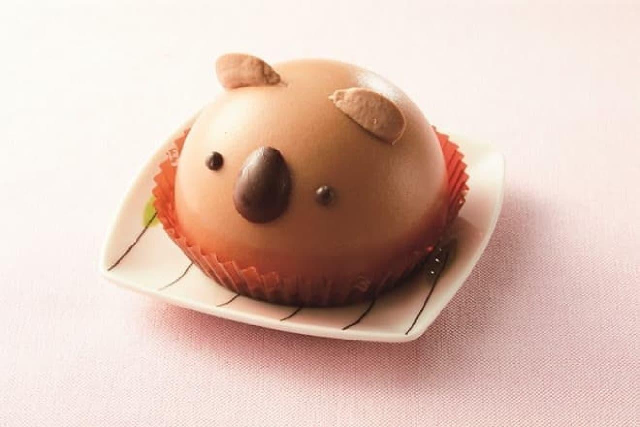 セブン-イレブン「コアラのチョコクリームケーキ」