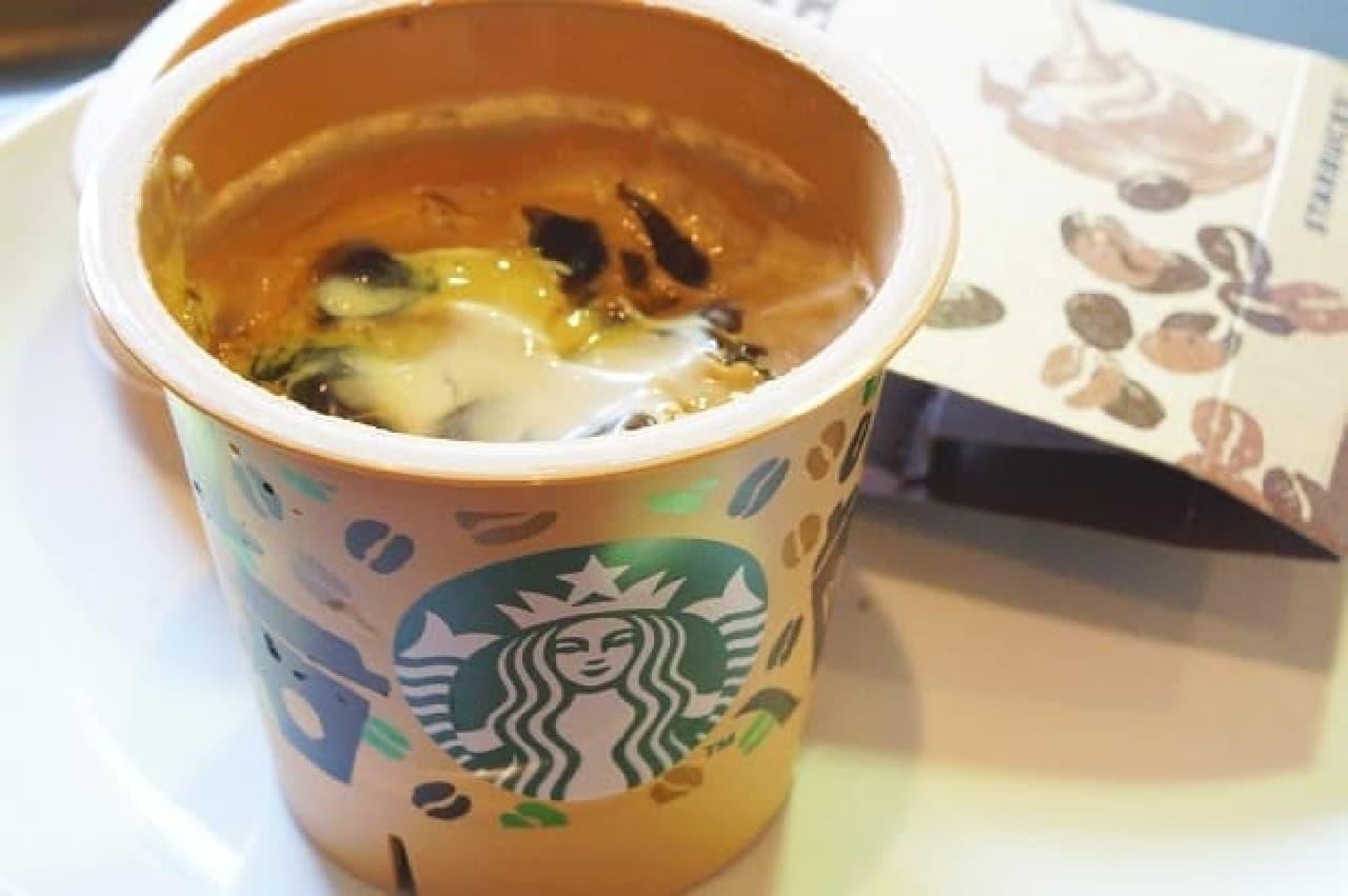 スターバックス「コーヒー&クリームプリン」