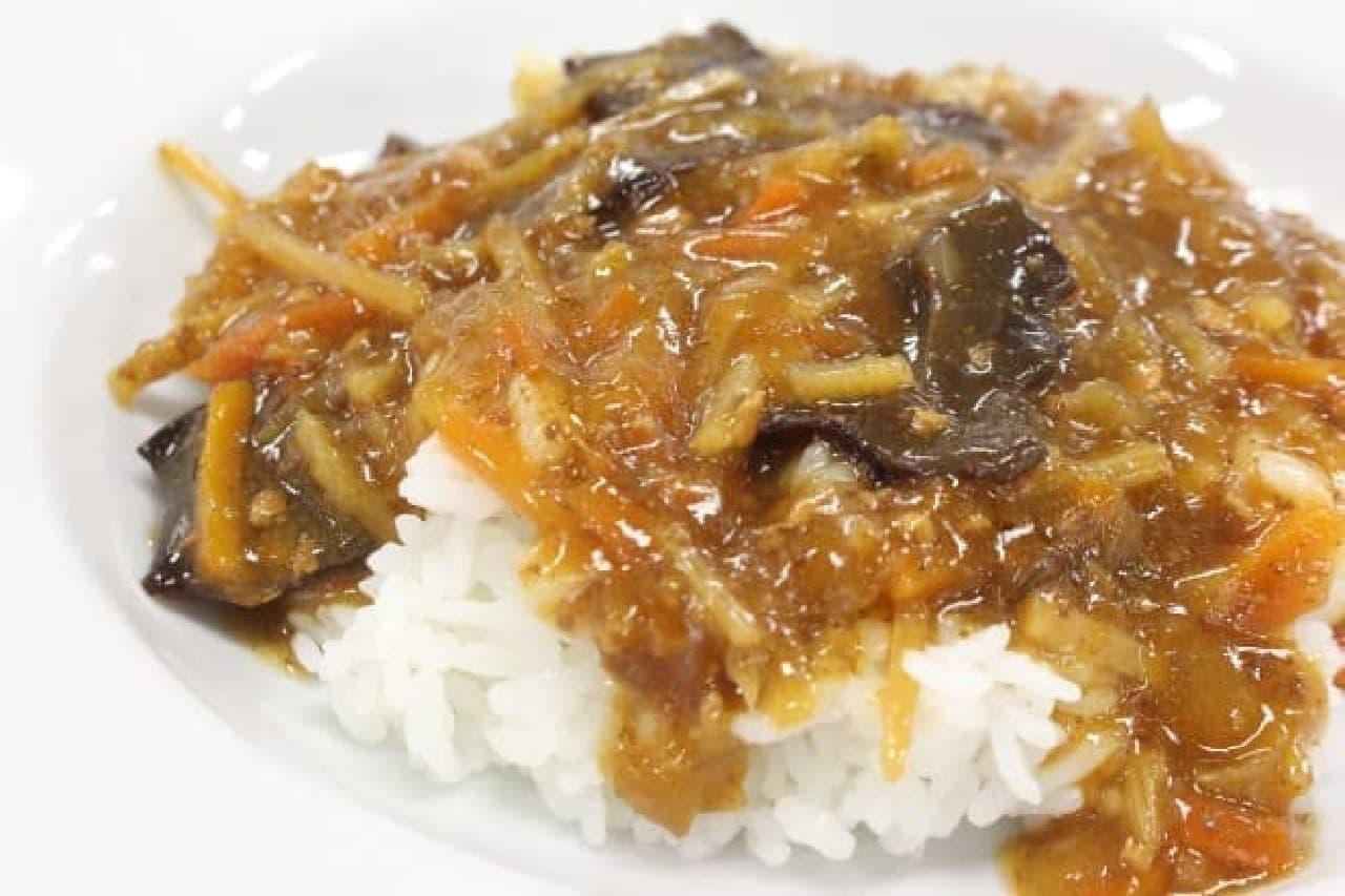 無印良品「黒豚と大麦黒酢の酸辣湯」