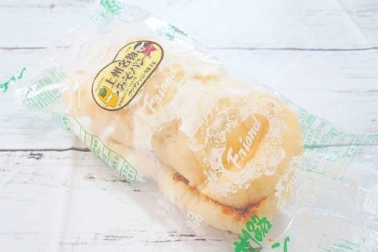 フリアンパン洋菓子店の「みそパン」
