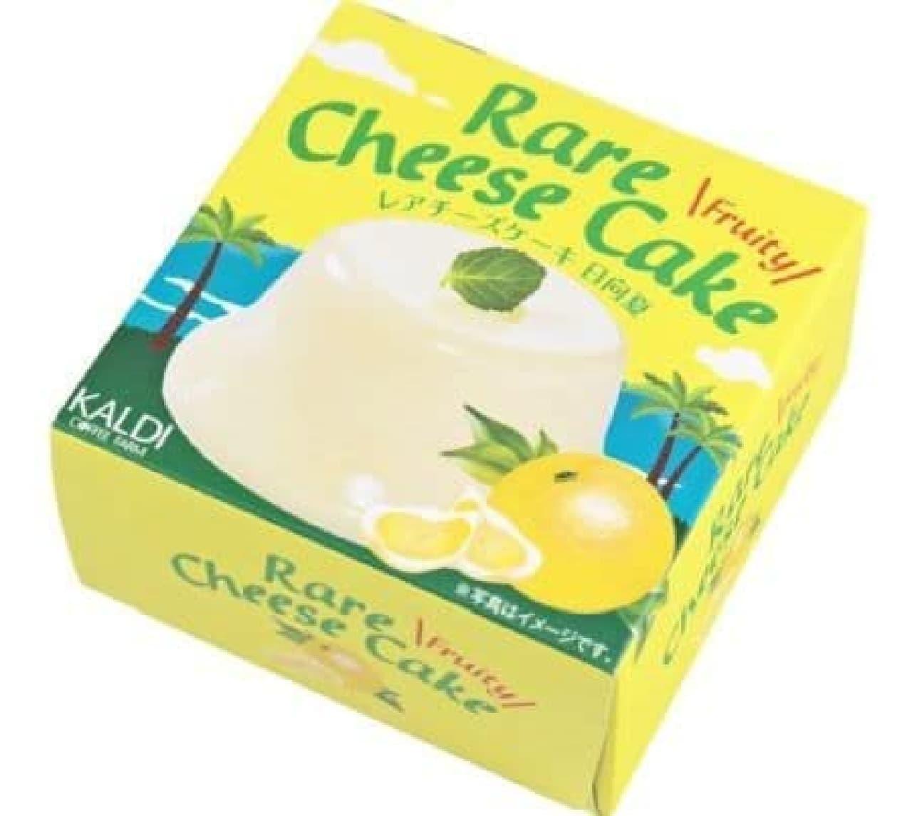 カルディ「オリジナル レアチーズケーキ 日向夏」