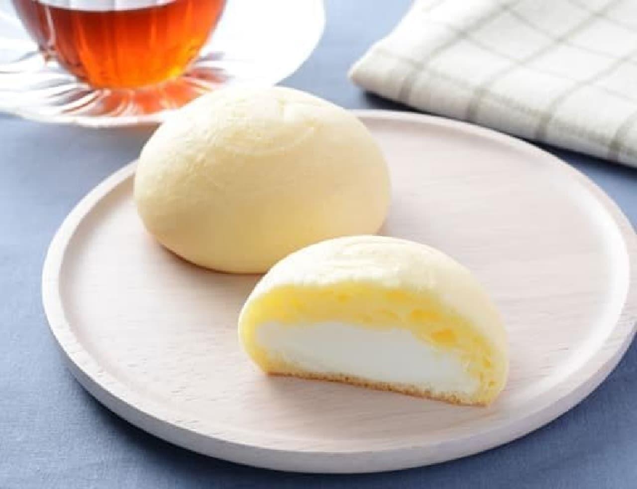 ローソン「もちぷよ(北海道産牛乳入りミルククリーム)」