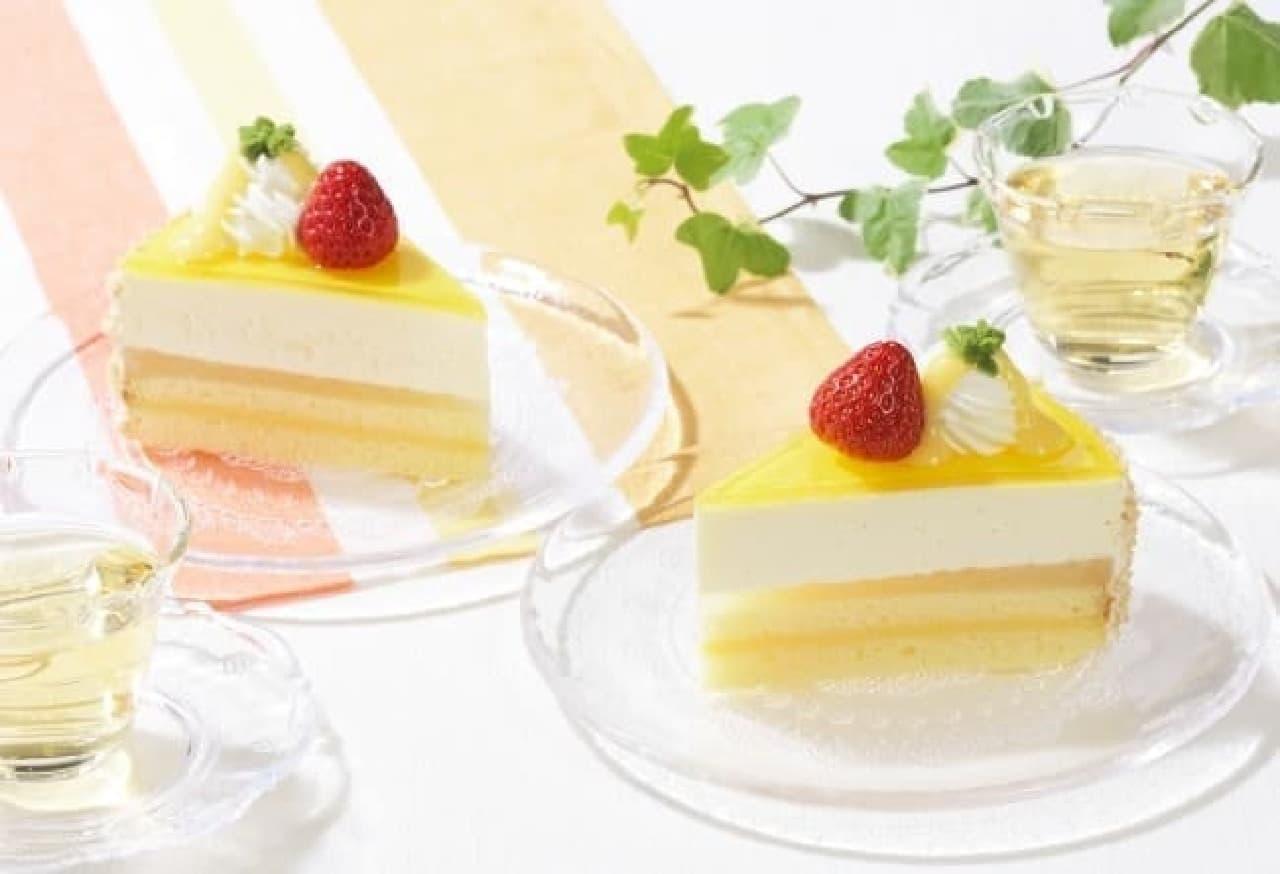 銀座コージーコーナー「夏のレアチーズ」
