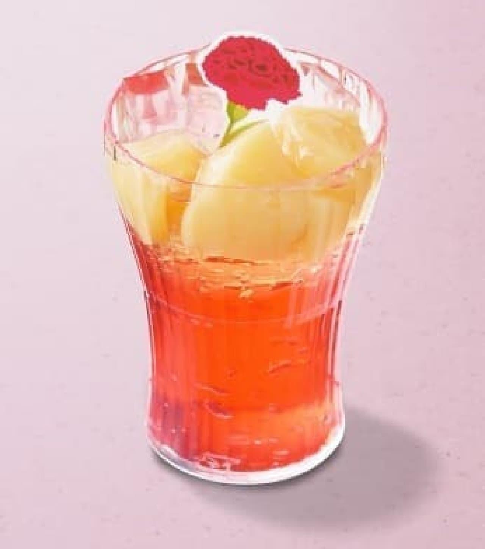 銀座コージーコーナー「ローズヒップと桃のゼリー」
