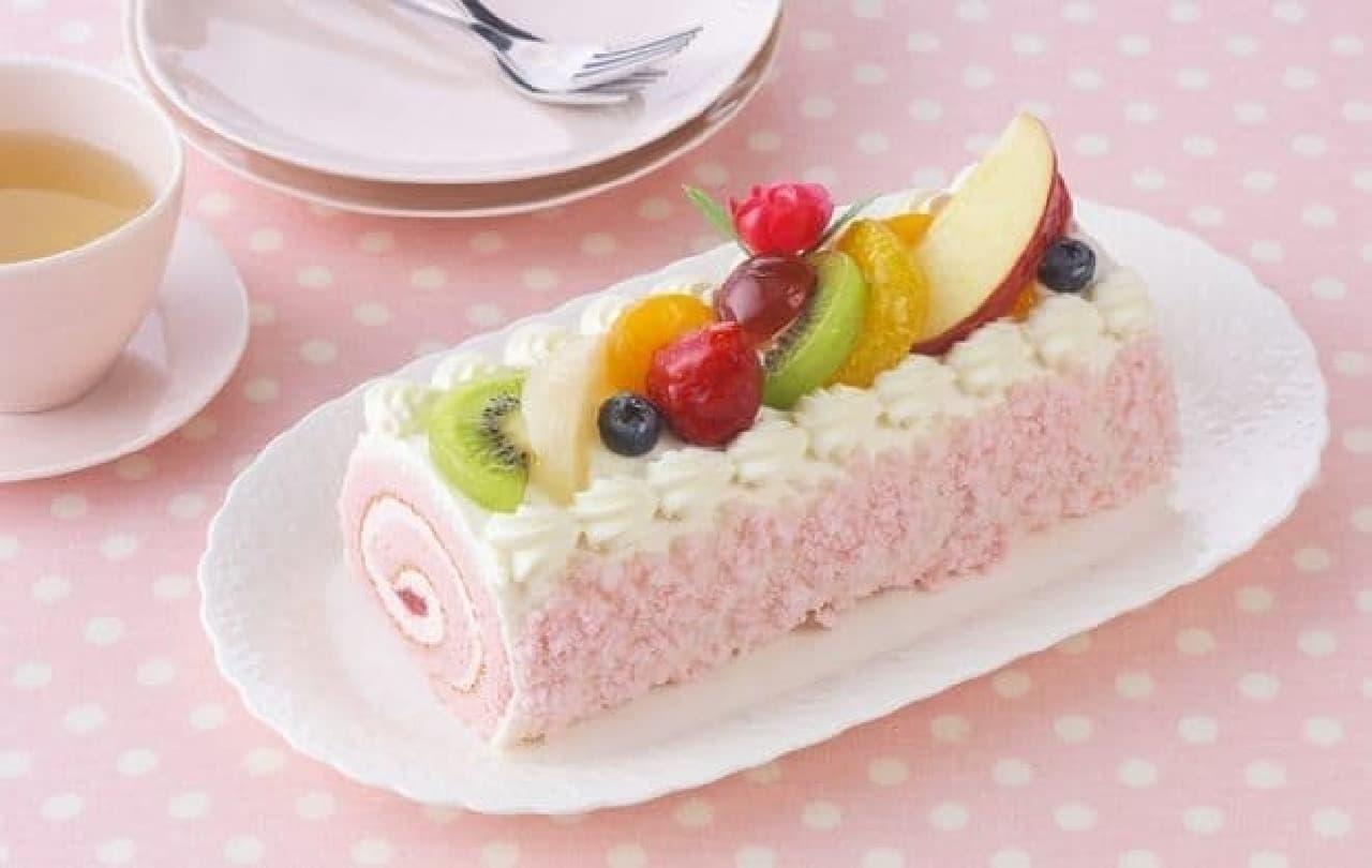 銀座コージーコーナー「母の日フルーツロール」