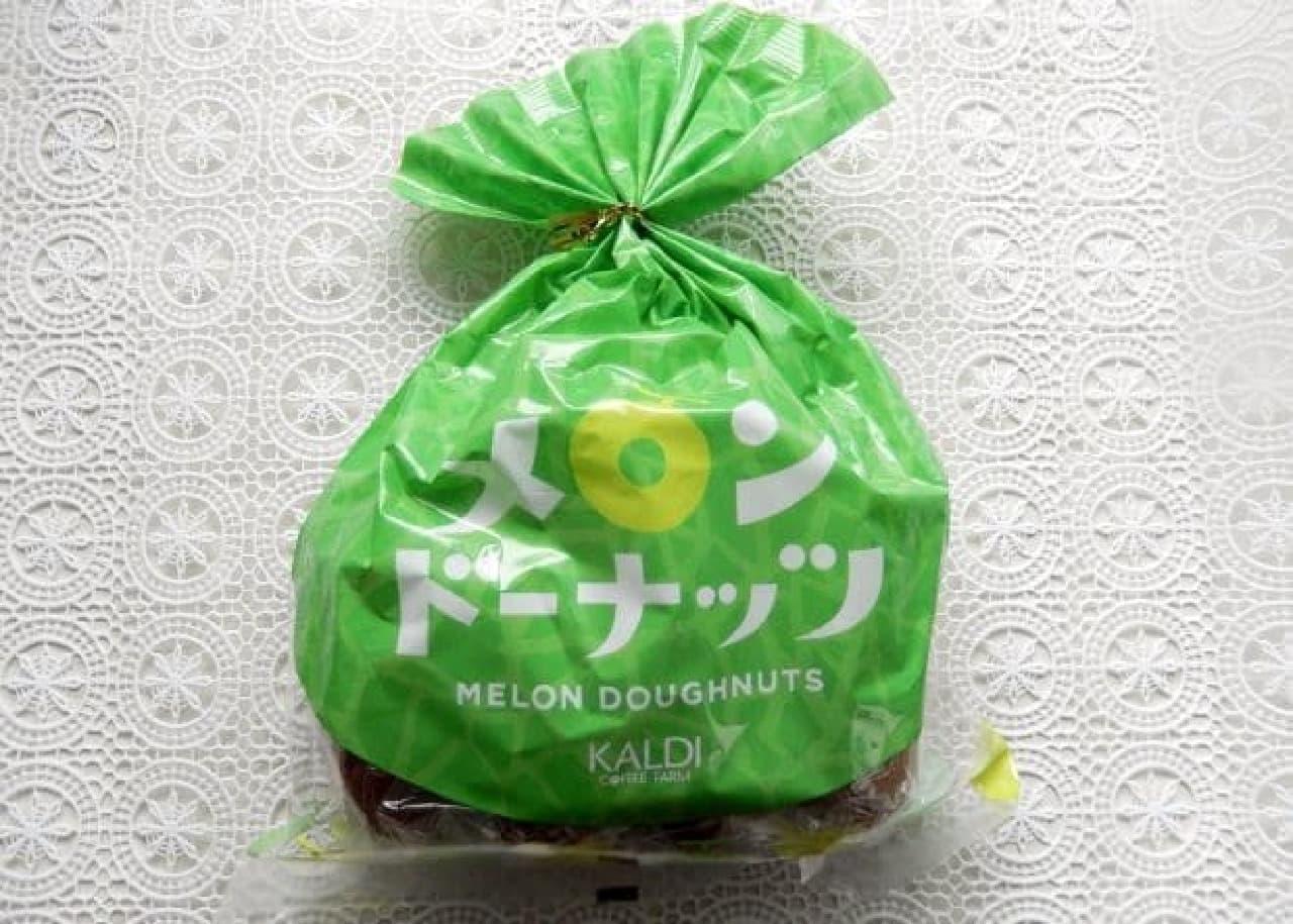 カルディ「メロンドーナッツ」