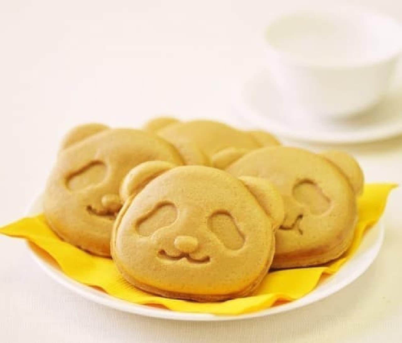銀座コージーコーナーの上野公園ルエノ店「パンダ焼き(西尾抹茶)」