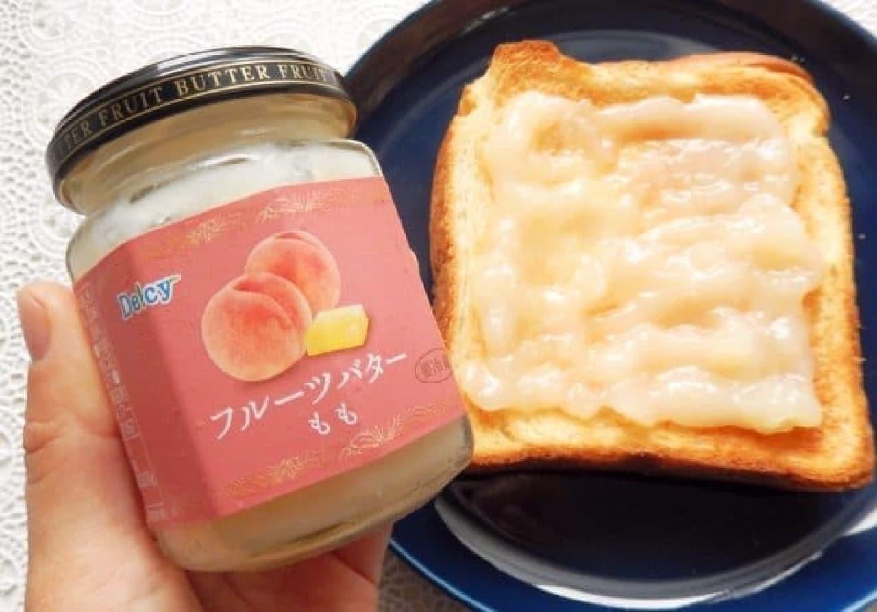 Delcy フルーツバター もも