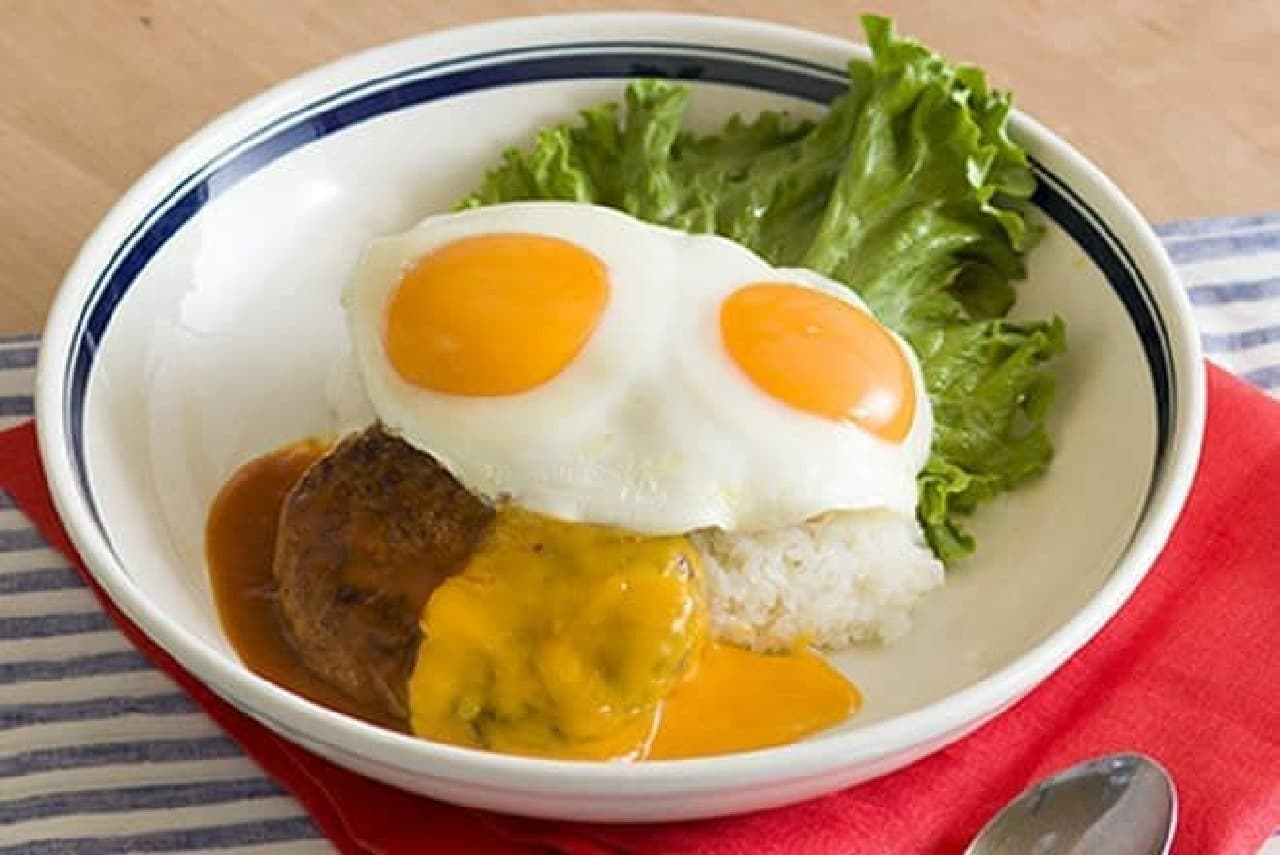 Eggs'n Things(エッグスンシングス)「チェダーチーズ ロコ・モコ」