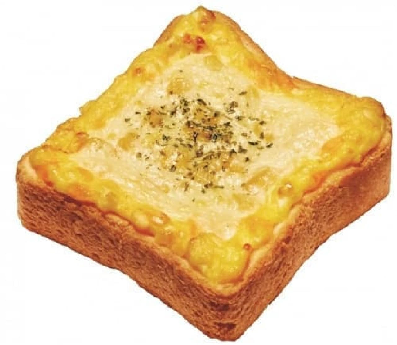 ミスタードーナツ「トッピング・ホットトースト コーンとたまごチーズ」