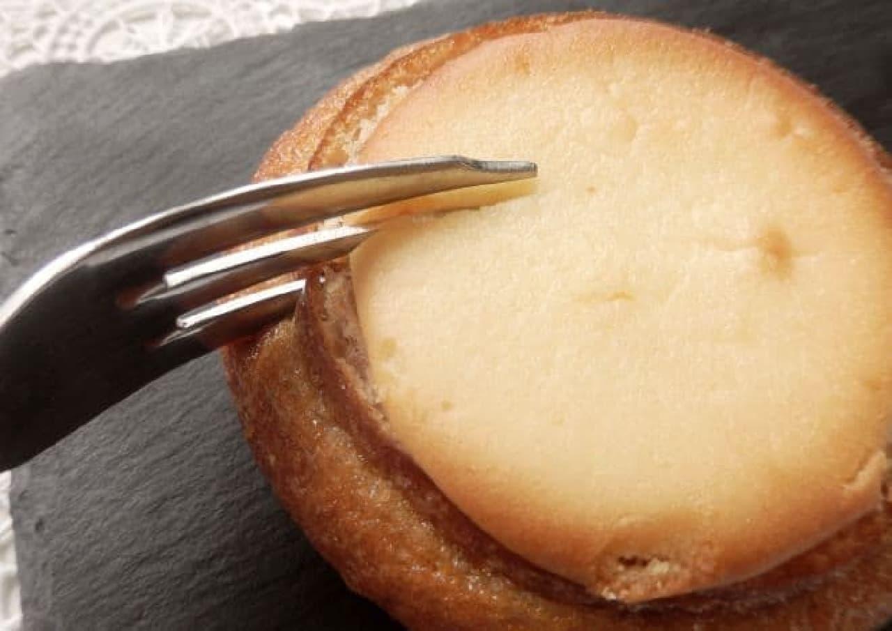 ストラスブール「チーズインバウム」