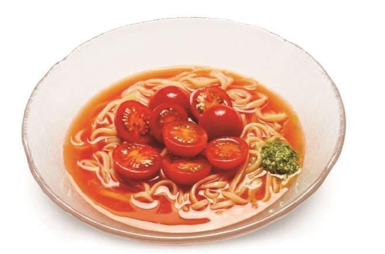 ミスド「あまーいマリネトマトの涼風麺」