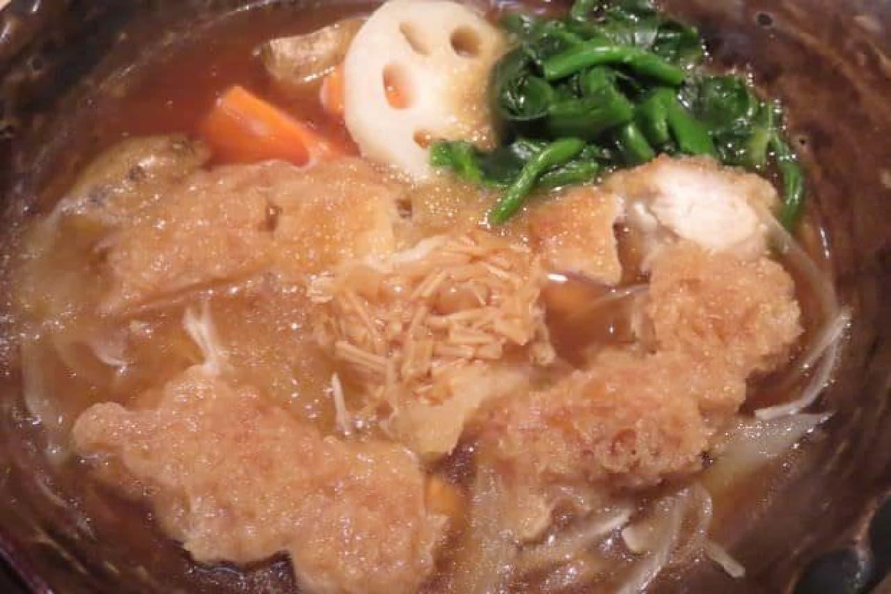 大戸屋「チキンかあさん煮定食」