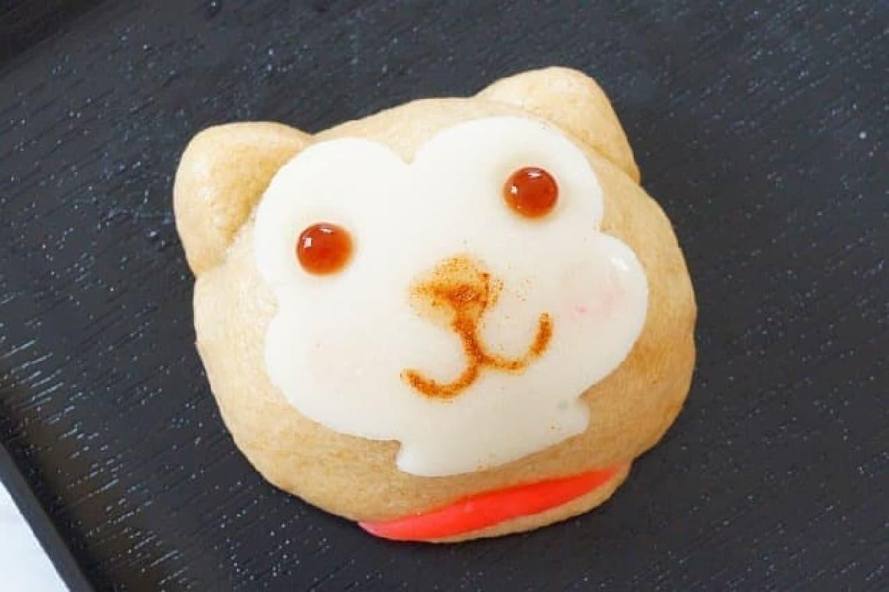 塩瀬総本家「ハチ公饅頭」