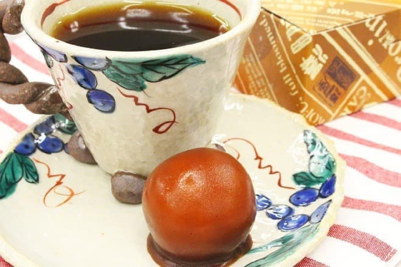 澤田屋「キャラ玉」とコーヒー