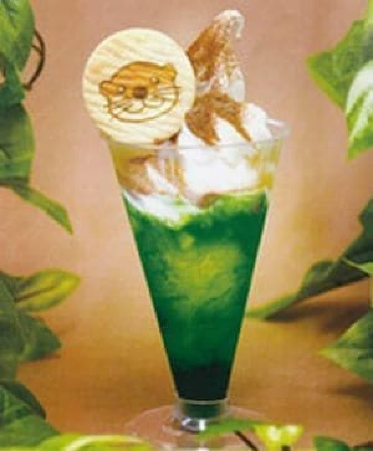 新江ノ島水族館オーシャンカフェ「かわうそサンデー」