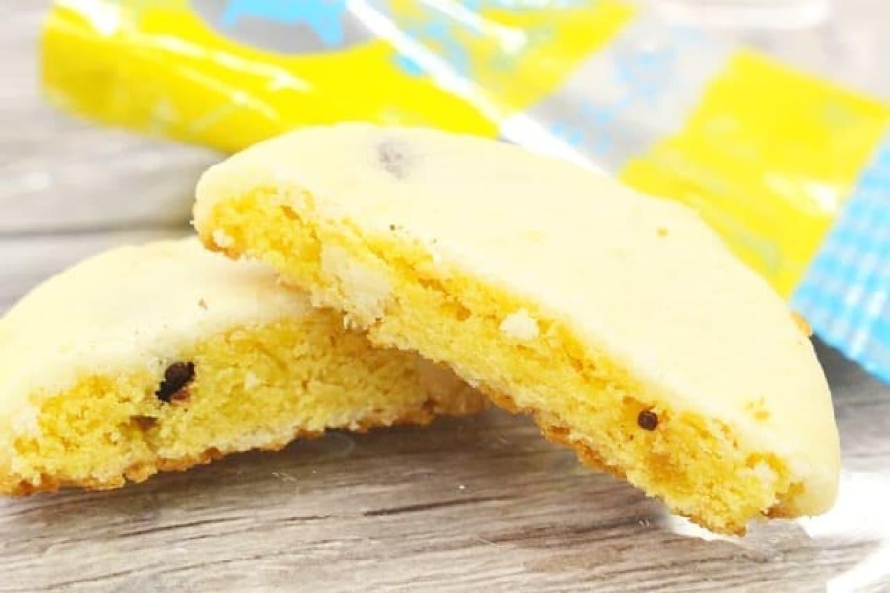 不二家の「夏のうすやきカントリーマアム(レモンチーズケーキ)」