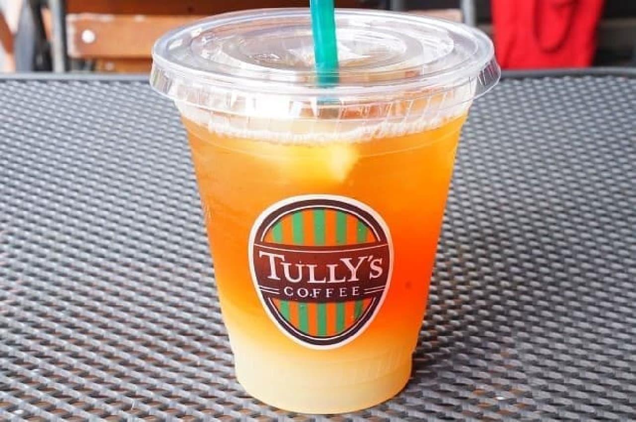 タリーズコーヒー「&TEA グレープフルーツセパレートティー」