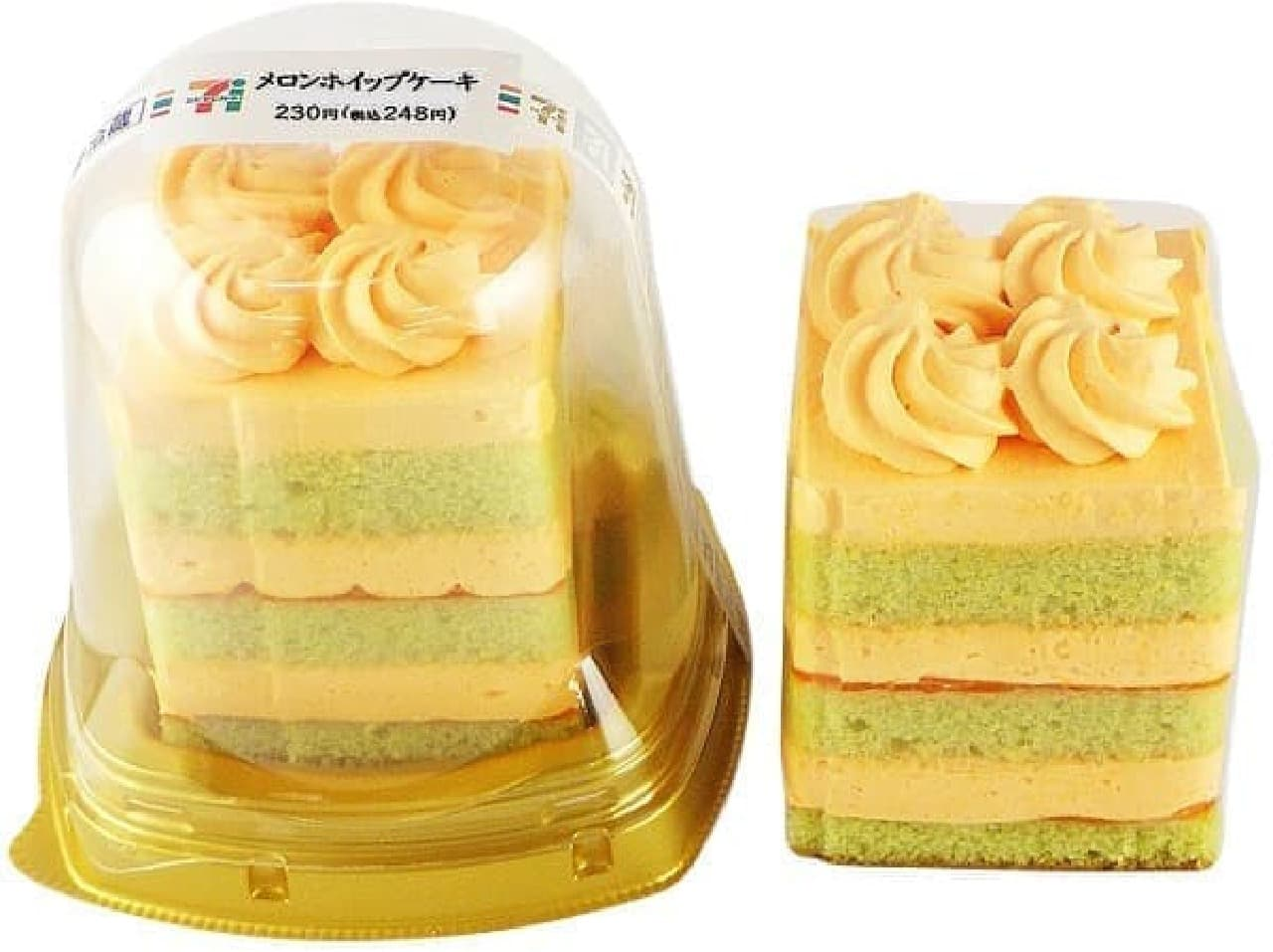セブン-イレブン「メロンホイップケーキ」