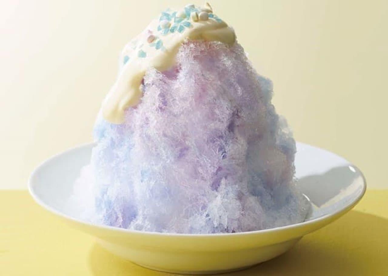 ココスに純氷を使ったオリジナルかき氷