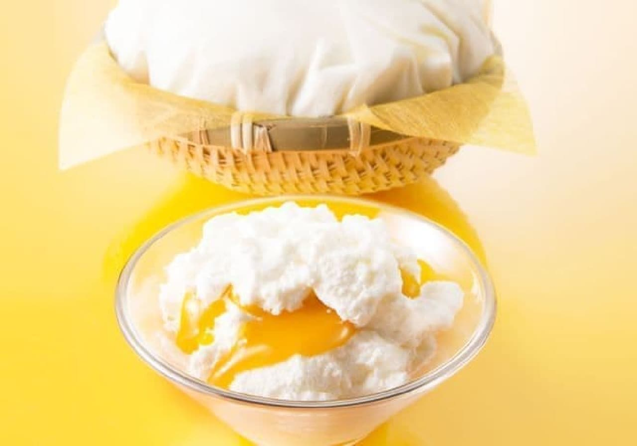 銀のぶどう「チーズケーキ かご盛り 白らら〈パッションマンゴー〉」