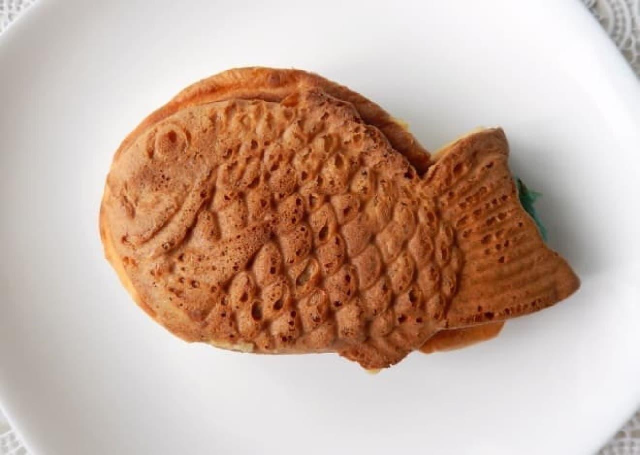 横浜くりこ庵に夏季限定のたい焼き「チョコミントあん」