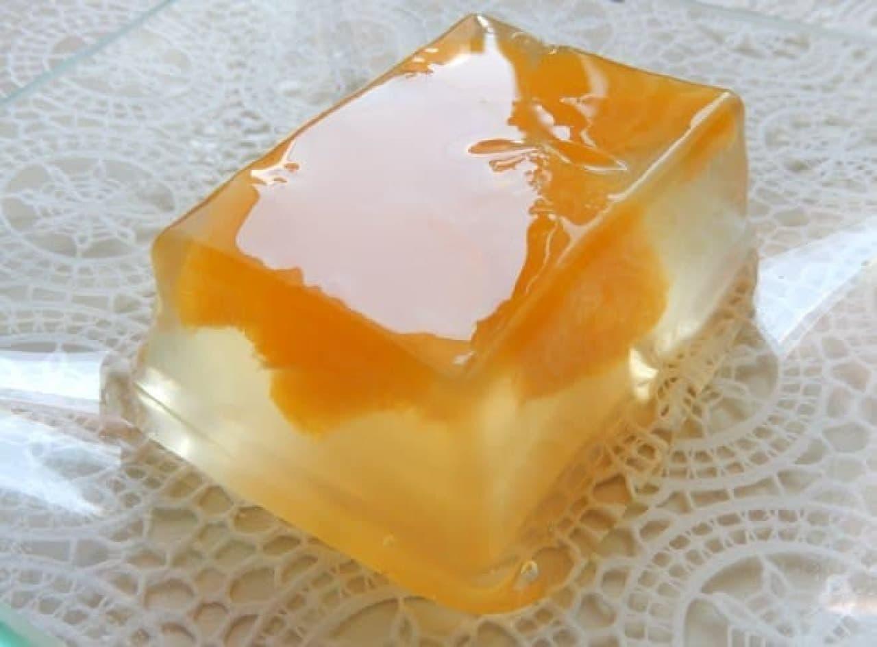 豊島屋の「涼菓 柑橘羹」