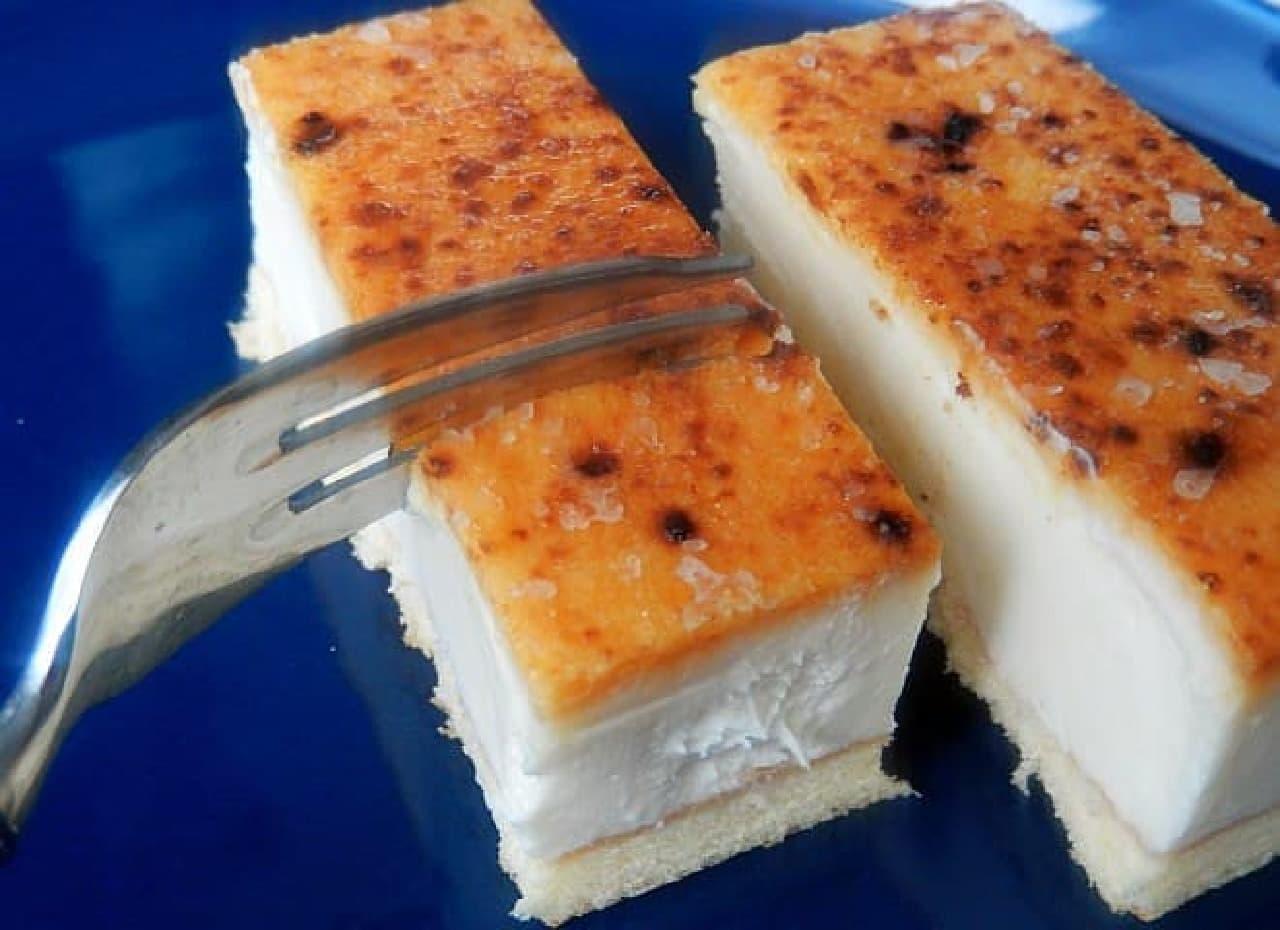 春雪さぶーる「北海道チーズケーキ(ブリュレ)」