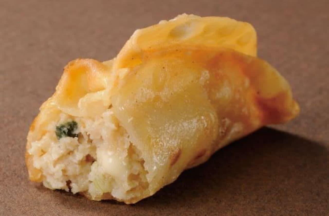 ミニストップ「プチ揚げ餃子(チーズ)」